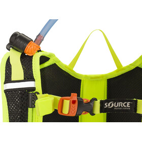 SOURCE Fuse Trinkrucksack 3+9l black/florescent yellow